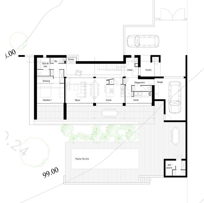 Maison neuve plan cheap maison interieur plan interieur for Maison neuve plan